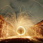 ball of light - photography by Anthony Wong